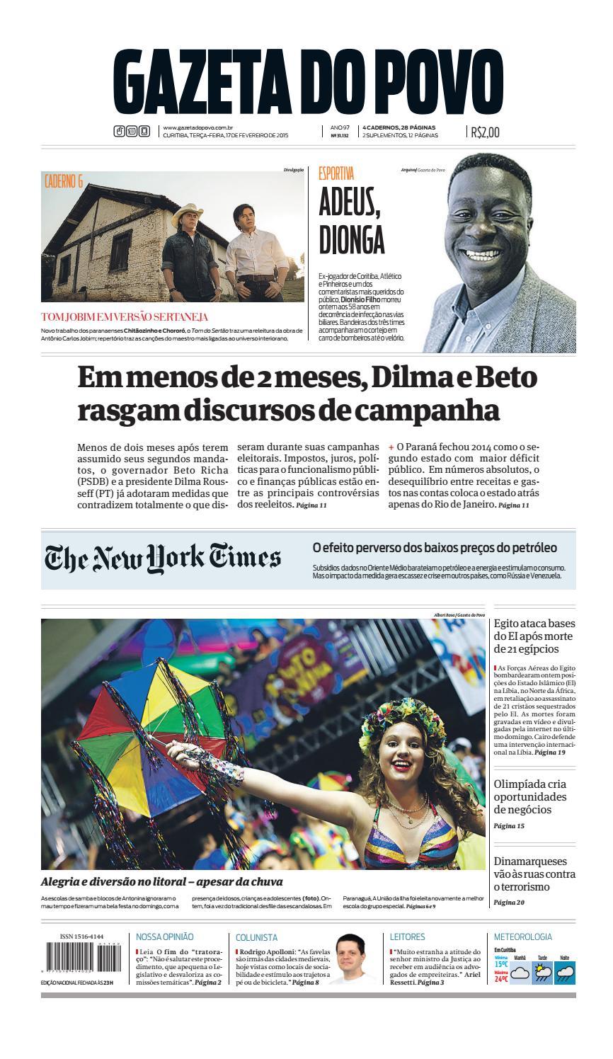fb545656c Jornal Gazeta do Povo nº 31.132 by Portal Academia do Samba - issuu