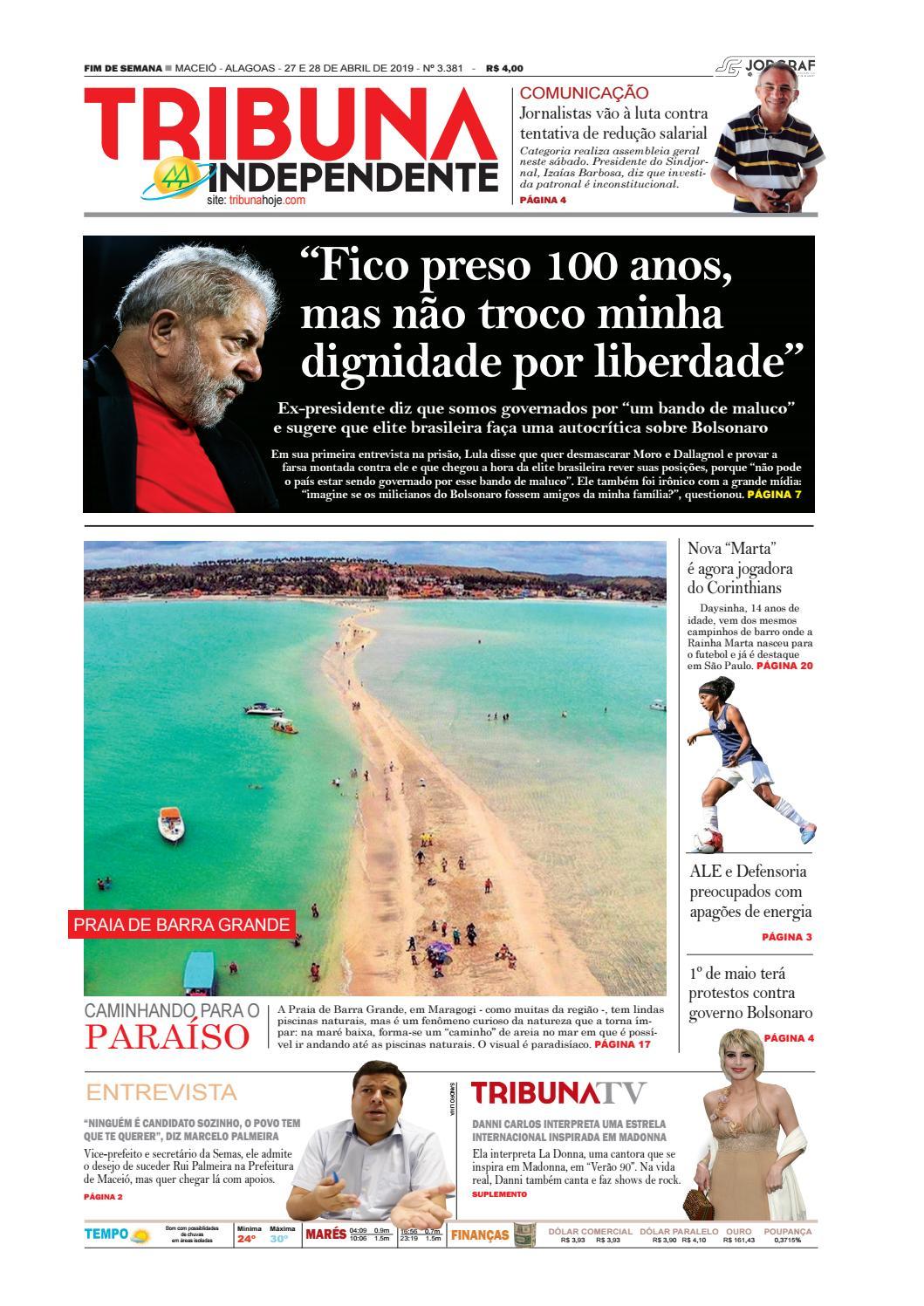 3031f9c5a Edição número 3381 - 27 e 28 de abril de 2019 by Tribuna Hoje - issuu