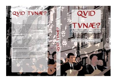 11fcf111d4e6 QVID TUNAE ? A Tuna Estudantil em Portugal, 2011 by Jean-Pierre ...