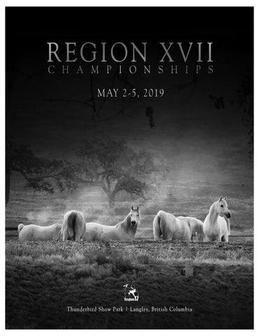 2019 Region XVII Show Program by Ashley Lauren - issuu