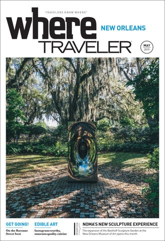bf3ee8f22242 Where Magazine New Orleans May 2019 by Morris Media Network - issuu