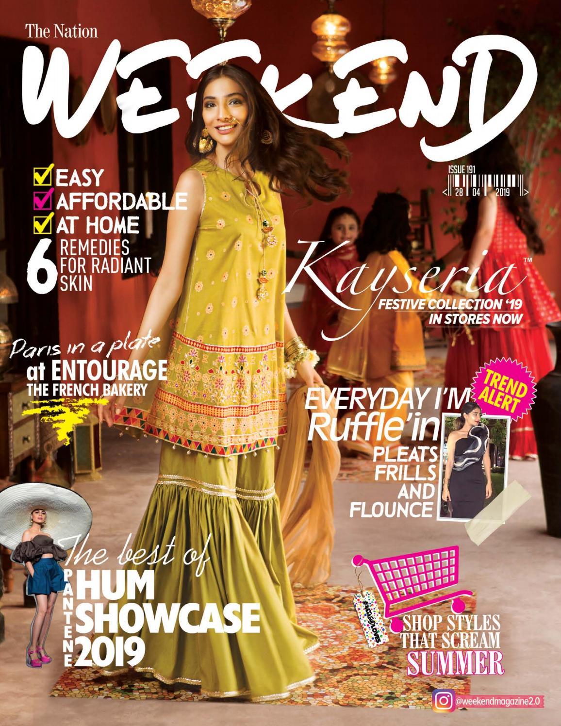 Weekend Magzine 28 April 2019 By Weekend Issuu