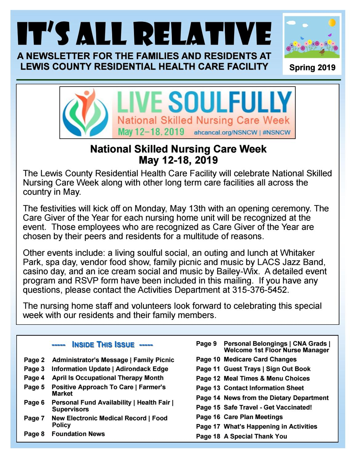 Newsletter by Lewis County General Hospital - issuu