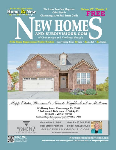 New Homes and Subdivisions/Chattanooga Real Estate Guide