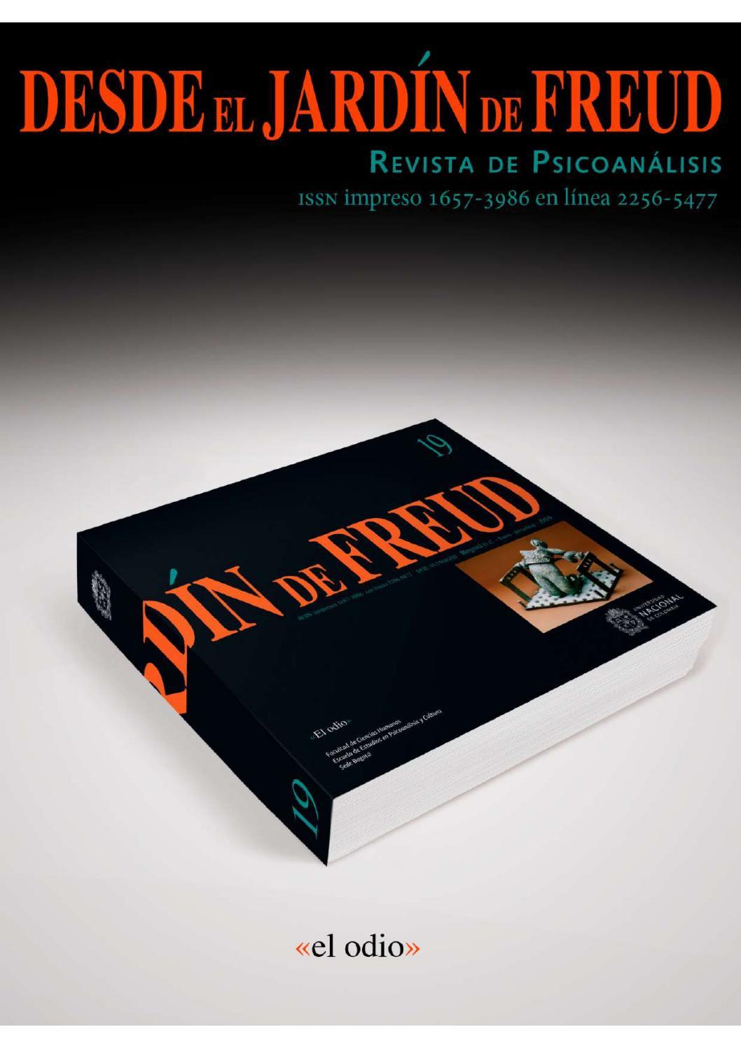 Desde El Jardín De Freud 19 Revista De Psicoanálisis By
