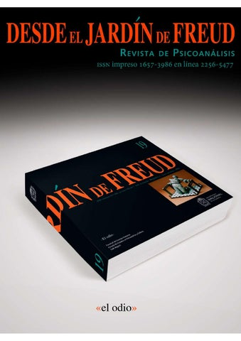 c949ceb29 DESDE EL JARDÍN DE FREUD 19 (Revista de Psicoanálisis) by Desde el ...