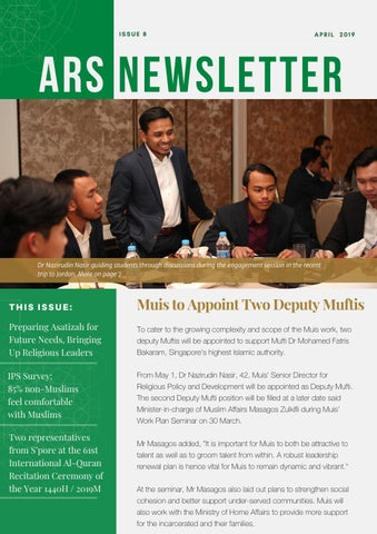 ARS Newsletter Issue 8 | April 2019 by ARS Office - issuu