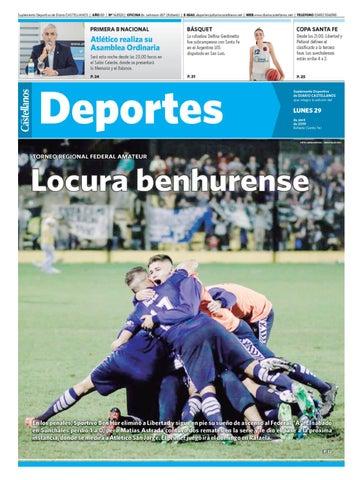 8c0c00318 Deportes 29 04 19 by Diario Castellanos - issuu