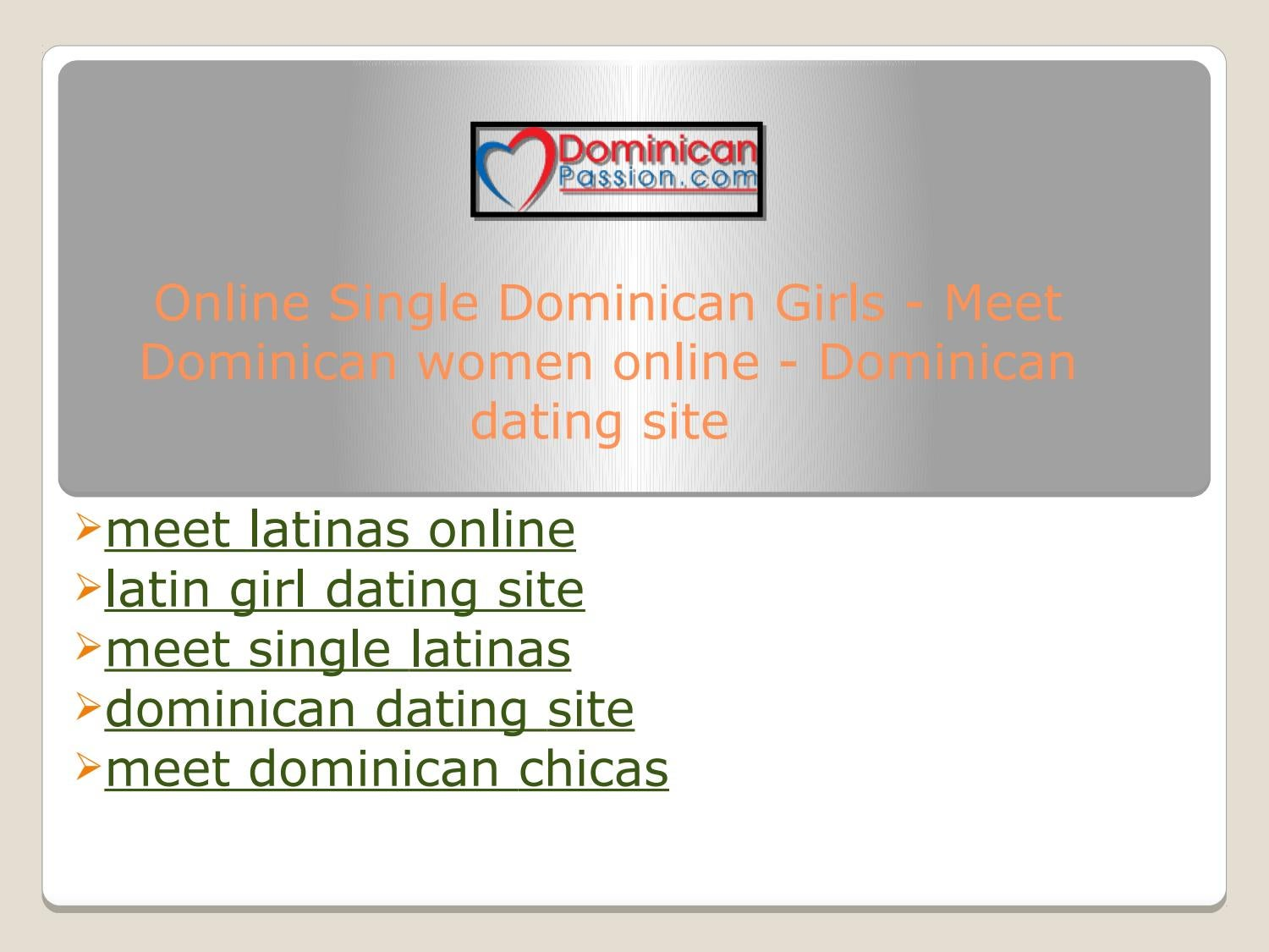 Online dating latinas
