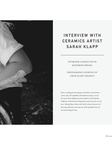 Page 13 of Interview with Ceramics Artist Sarah Klapp