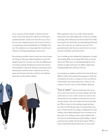 Page 29 of Strategic Style: A Traveling Wardrobe