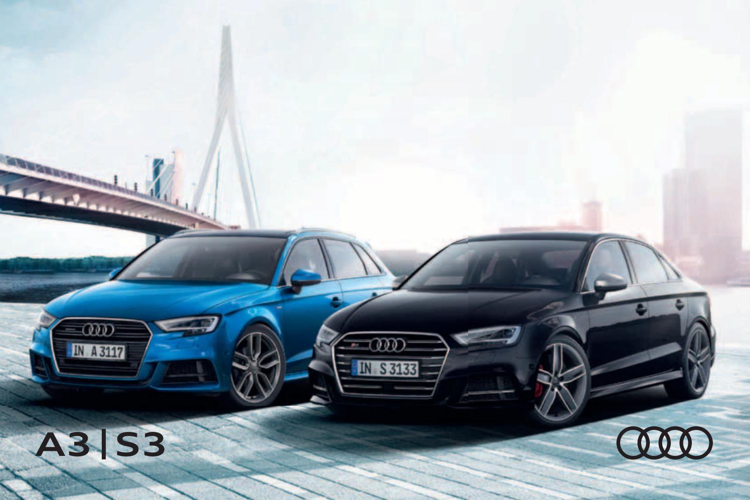 uusin uudet tyylit myymälä Audi A3 / S3 -esite 11/2018 by Avidly Agency - issuu