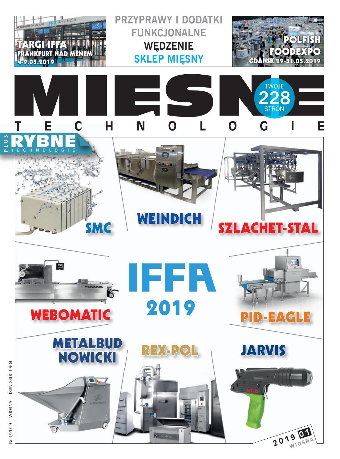 caaea7e3862c72 MIĘSNE TECHNOLOGIE 1/2019 (WIOSNA) by Womat - media czasopisma dla  specjalistów - issuu