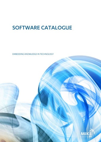 MIKE software catalogue by DHI - issuu