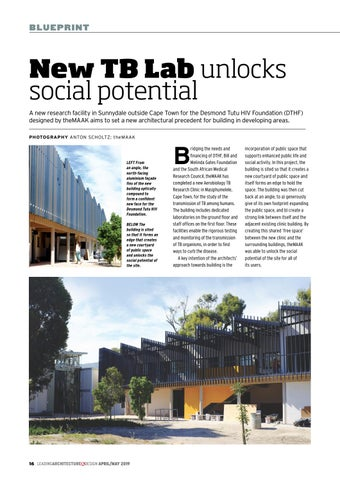 Page 16 of New TB Lab unlocks social potential