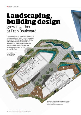 Page 20 of Landscaping, building design grow together at Pran Boulevard