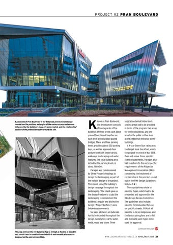 Page 21 of Landscaping, building design grow together at Pran Boulevard