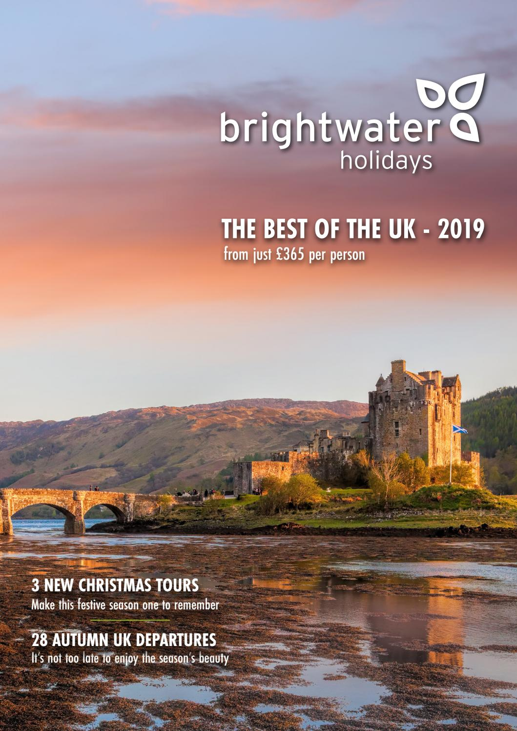 Brightwater Holidays - The best of the UK in 2019 by