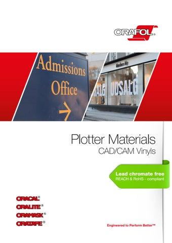 ORAFOL Plotter Materials - CAD/CAM Vinyls - EN by FINISH