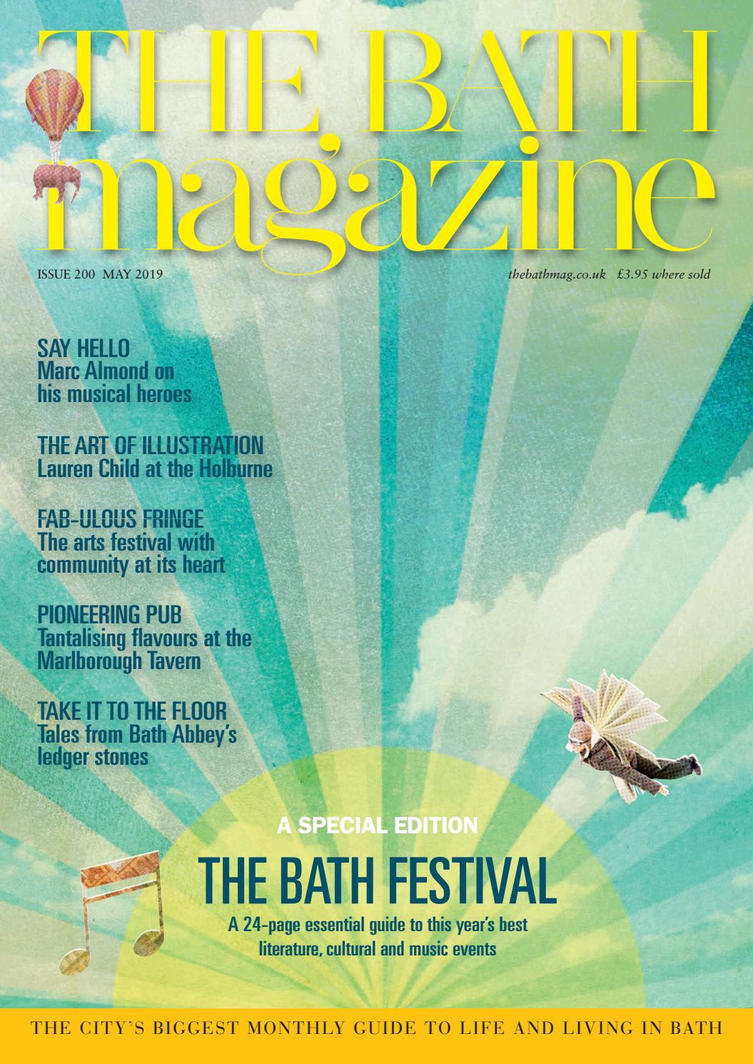 68defbfd0 The Bath Magazine May 2019 by MC Publishing Limited - issuu
