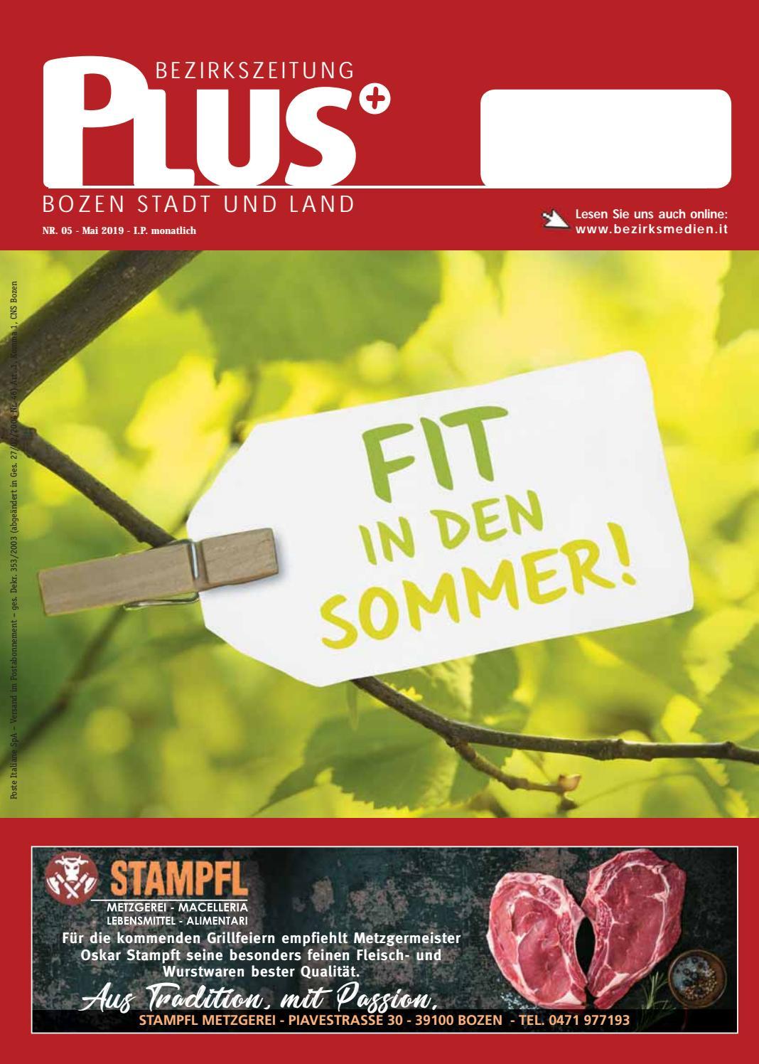 PLUS 05 vom 04052019 by Bezirksmedien GmbH issuu