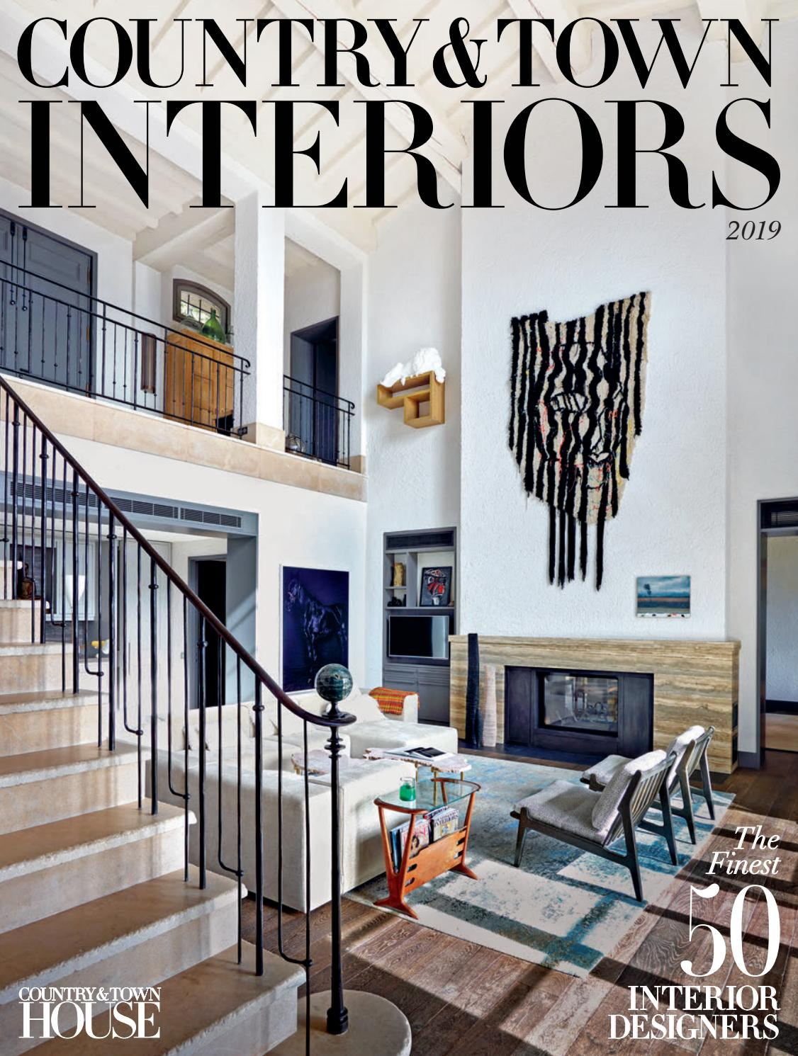 Country u0026 Town Interiors 2019 by Country u0026 Town House Magazine - issuu