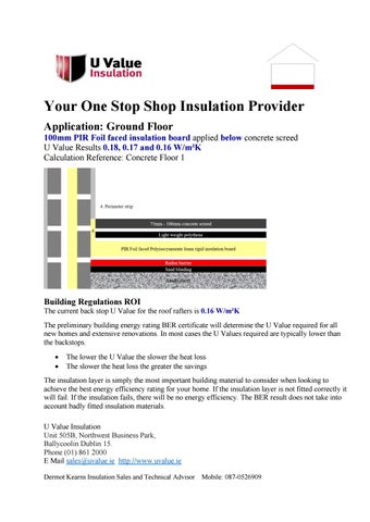 Ground Floor Pir Insulation By Uvalue Insulation Issuu