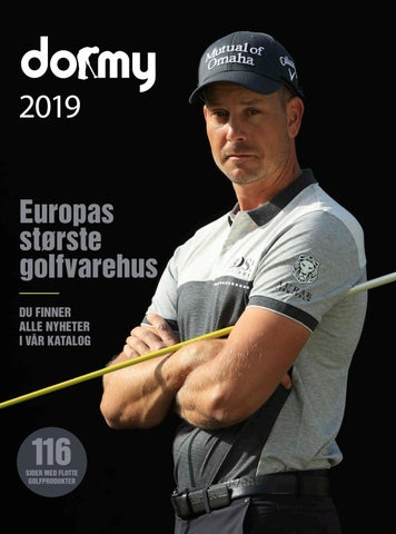 7acff0ca Dormy Golf - Katalog 2019 (NO) by Dormy Golf - issuu