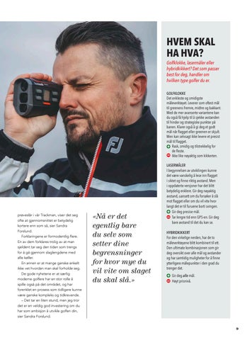 Page 9 of Bedre golf med ny teknologi