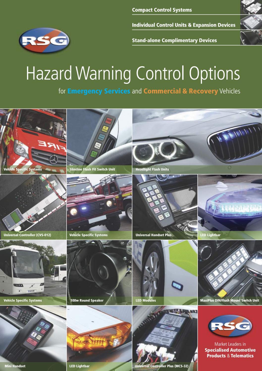 Hazard Warning Control Options By Rsg Engineering Issuu