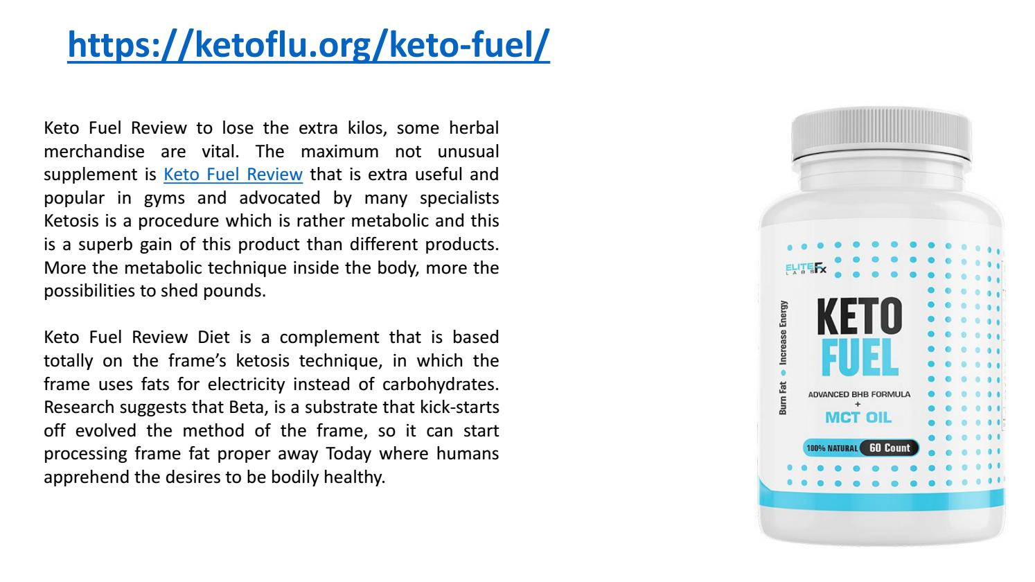 Keto Fuel Reviews Keto Fuel Pills Total Fuel Keto Keto Fuel