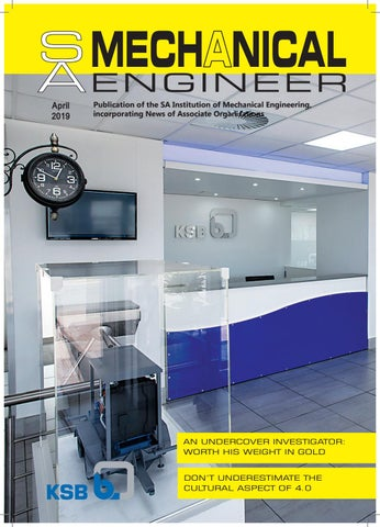 SA Mechanical Engineer April 2019 by Promech Publishing - issuu