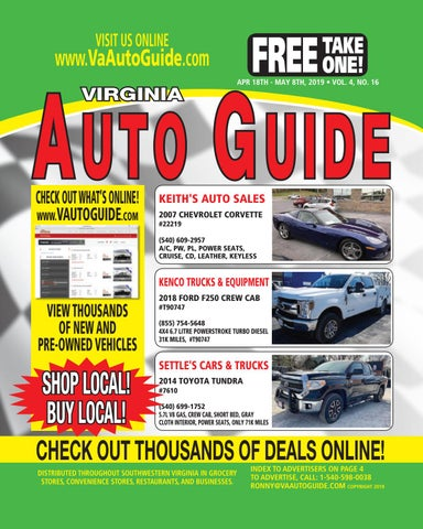 Keiths Auto Sales >> Va Auto Guide 04 16 By Va Auto Guide Issuu