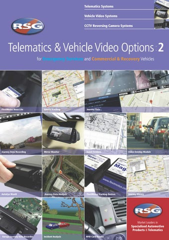Telematics Vehicle Video Options By Rsg Engineering Issuu