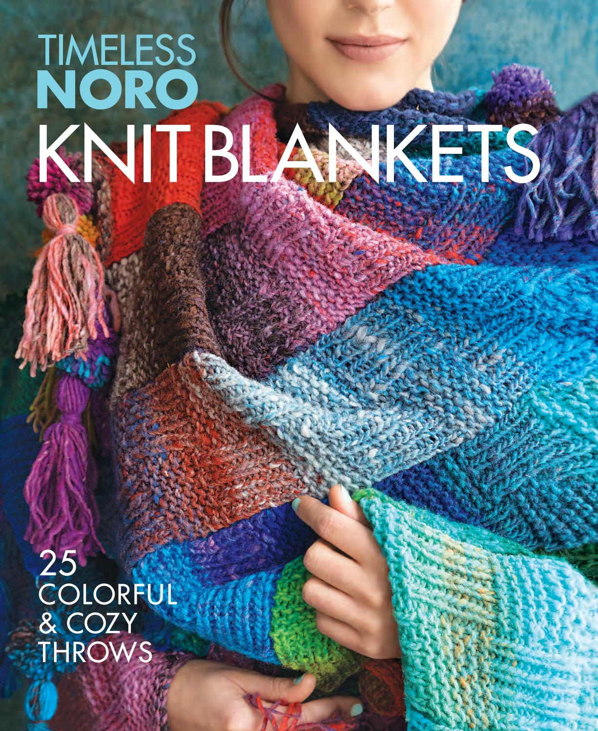 Knit Blankets 25 Colorful Cozy Throws By Sixth Spring Books Issuu
