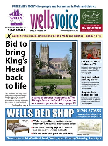 Wells Voice May 2019 by Wells Voice - issuu