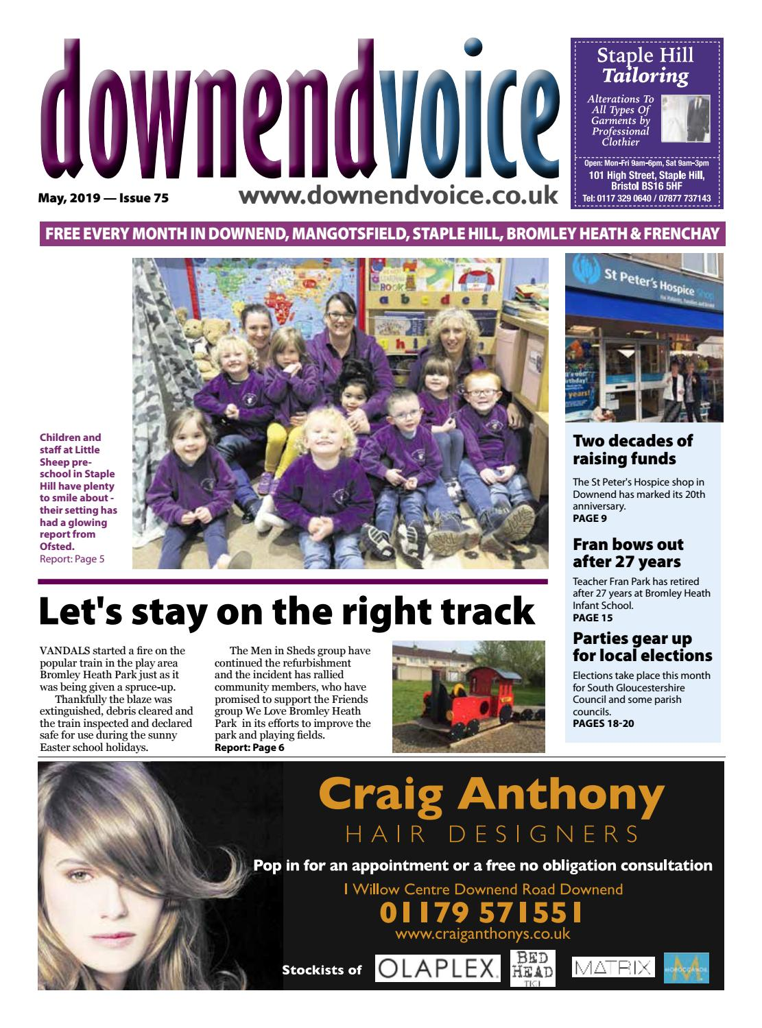 Downend Voice May 2019 by Gary Brindle - issuu