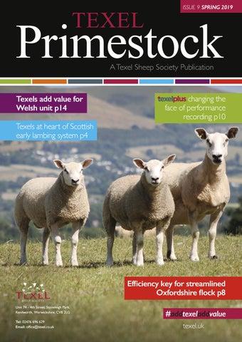 Texel Society Primestock 2019 by Texel Sheep Society Ltd - issuu