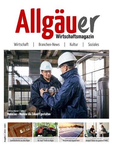 Allgäuer Wirtschaftsmagazin By Thomas Tänzel   Issuu