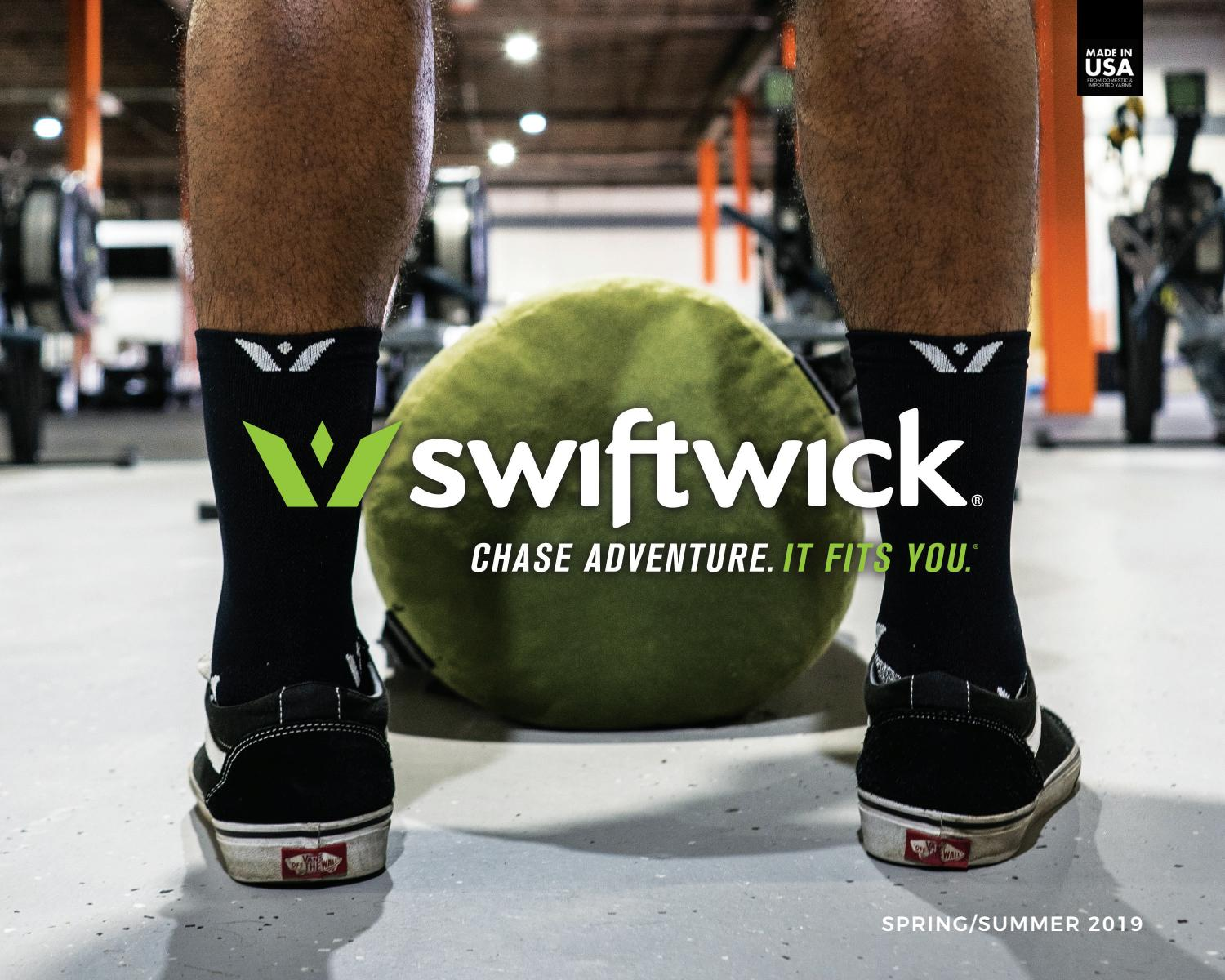No-Itch Merino Wool Ultimate Durability Tall Crew Socks Socks Built for Cycling /& Hiking Swiftwick- PURSUIT SEVEN