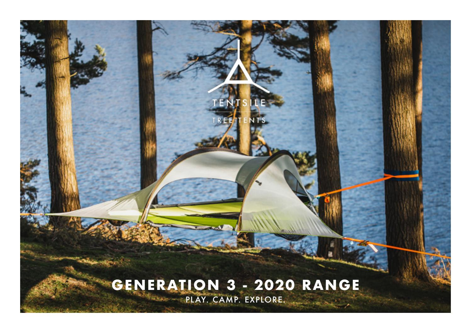 Tentsile 6ft Webbing Ladder for Tentsile Tree Tents and Hammocks