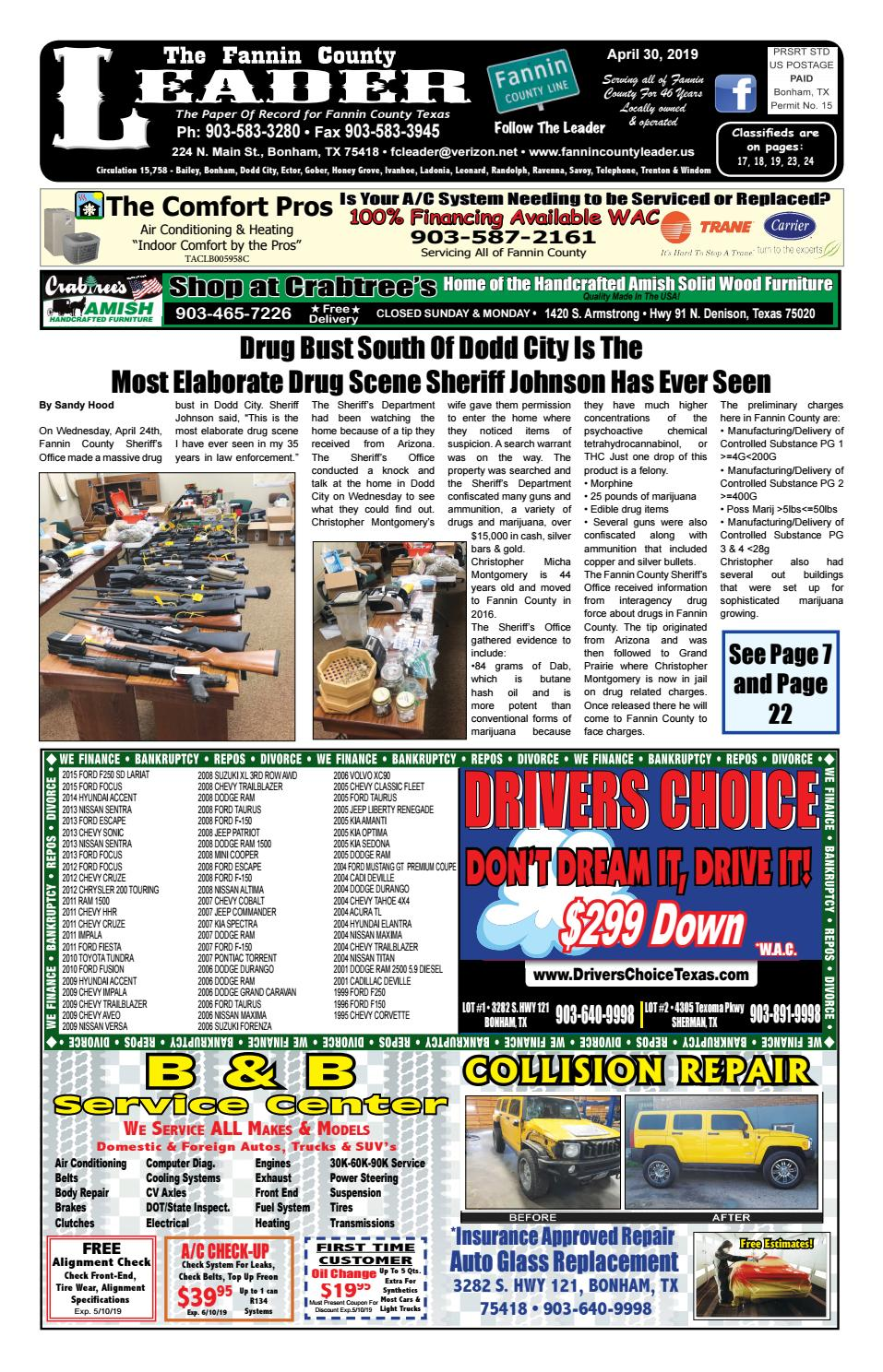 4-30-19 Leader E-Edition by The Fannin County Leader - issuu