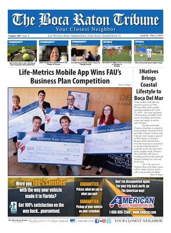 The Boca Raton Tribune ED 412 by The Boca Raton Tribune - issuu