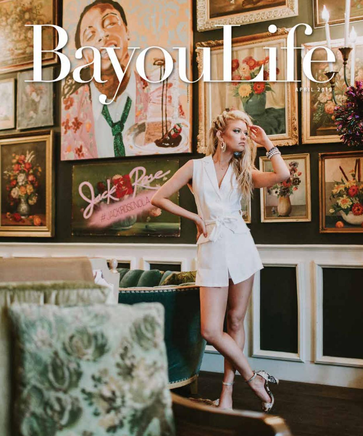 b1aafbafbb3f BayouLife Magazine April 2019 by BayouLife Magazine - issuu