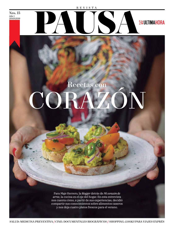 Recetas del corazón. by Revista Pausa - issuu