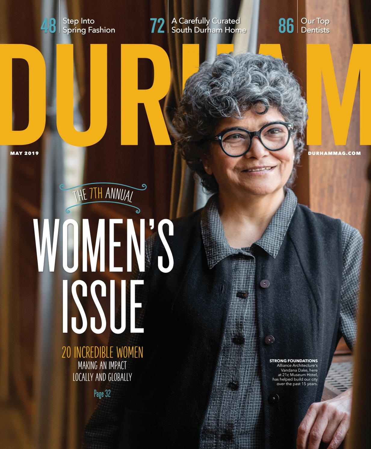 d4e8912136d Durham Magazine May 2019 by Shannon Media - issuu