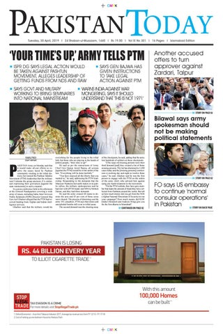 E-Paper PDF 30 April (ISB) by Pakistan Today - issuu