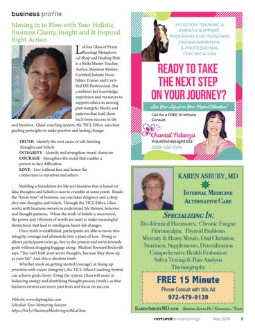 Page 9 of LaGina Glass Introduces TICL Coaching