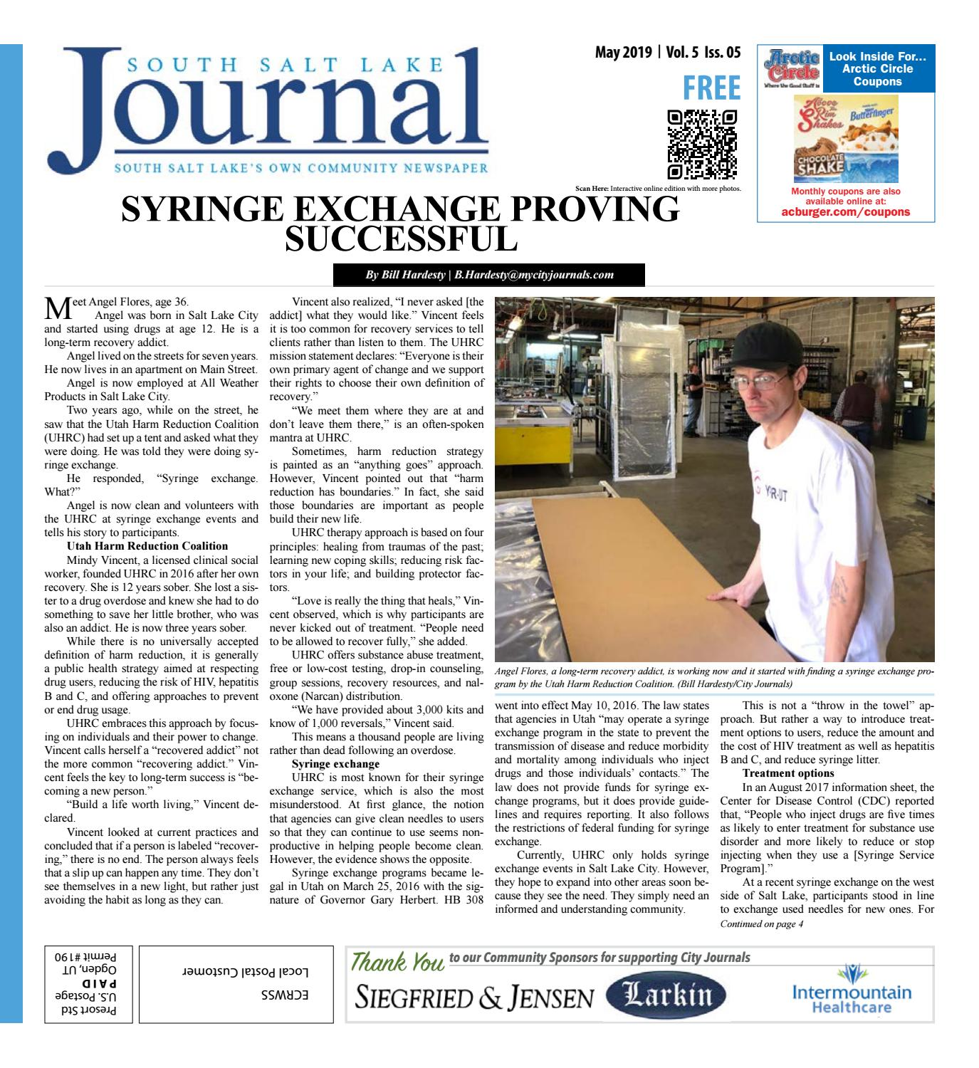 South Salt Lake Journal May 2019 by The City Journals - issuu