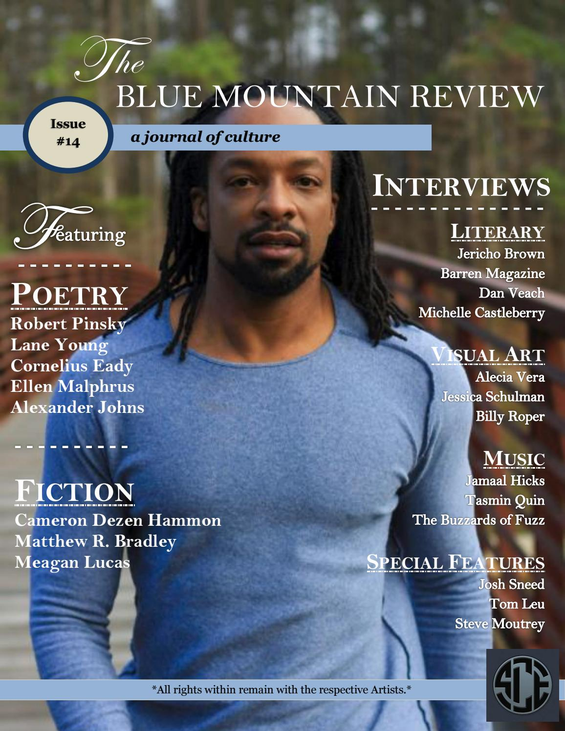 94d9a63d The Blue Mountain Review Issue 14 by CollectiveMedia - issuu